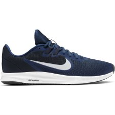 Nike Mens Downshifter 9 (Navy White) 6