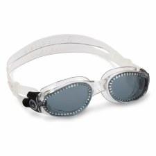 Aqua Sphere Kaiman Goggles (Clear Smoke Lens) Adults Regular