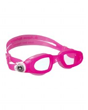 Aqua Sphere Moby Kids Swimming Goggles (Pink/Clear Lens) Kids