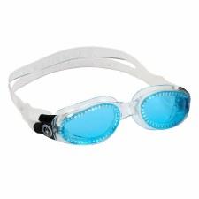 Aqua Sphere Kaiman Goggles (Clear Blue Lens) Adults
