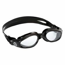 Aqua Sphere Kaiman Goggles (Black Clear Lens) Adults Regular