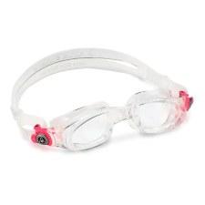 Aqua Sphere Mako swimming Goggles Adult (Clear/Pink/Clear Lens) Adults