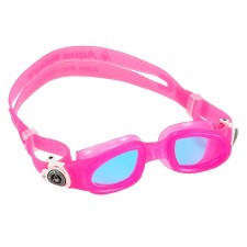 Aqua Sphere Moby Kids Swimming Goggles (Pink White Tinted)