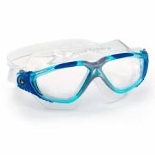 Aqua Sphere Vista Goggles (Blue Silver Clear) Adults