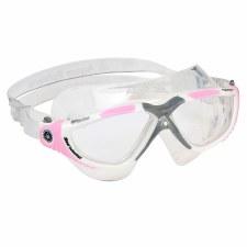 Aqua Sphere Vista Goggles (Pink Grey Clear) Adults