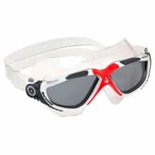 Aqua Sphere Vista Goggles (White Red Smoke) Adults