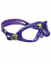 Aqua Sphere Seal 2 Kids Goggles (Violet/Lime Clear Lens)