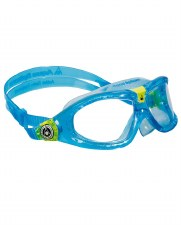 Aqua Sphere Seal 2 Kids Goggles (Blue/Lime Clear Lens)