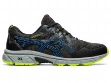 Asics Gel Venture 8 Mens (Black Blue Lime) 7