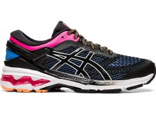 Asics Gel Kayano 26 Ladies (Black Blue Pink) 6