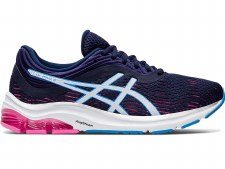 Asics Gel Pulse 11 Ladies (Navy White Blue Pink) 6