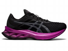 Asics Novablast Womens (Black Purple) 5.5