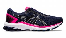 Asics GT1000 9 Ladies (Dark Navy Pink White) 5