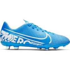 Nike Junior Vapor 13 Club Firm Ground  (Blue White) 1