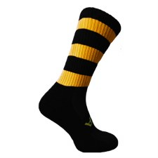 Atak Shox Mid Lenght Socks (Black Amber) 10-2 Uk