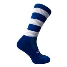 Atak Shox Mid Lenght Socks (Royal White) 9-12 Uk
