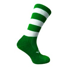 Atak Shox Mid Lenght Socks (Green White)  10-2 Uk