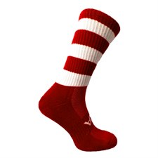 Atak Shox Mid Lenght Socks (Red White) 10-2 Uk