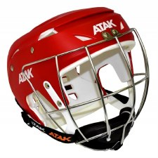 Atak Hurling Helmet (Red) Medium