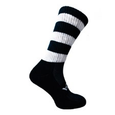 Atak Shox Mid Lenght Socks (Black White) 10-2 Uk