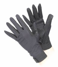 Aubrion Lightweight Riding Gloves (Black) M