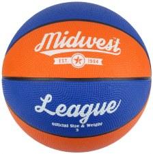 Midwest League Basketball (Blue Orange) 5