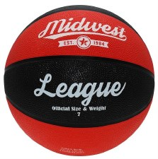 Midwest League Basketball (Red Black) 5