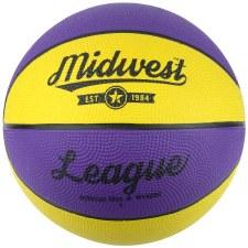 Midwest League Basketball (Purple Yellow) 5