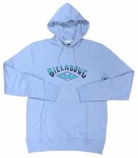 Billabong Arch Hoodie Mens (Sky Blue) Medium