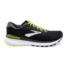 Brooks Adrenaline GTS 20 Mens (Black Lime White) 8