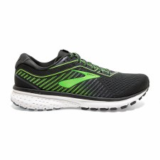 Brooks Ghost 12 Mens (Black Green White) 9.5