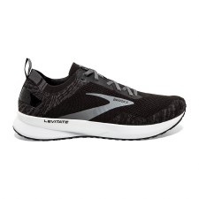 Brooks Levitate 4 Mens (Black Silver White) 8