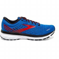 Brooks Ghost 13 Mens (Blue Red Black) 8