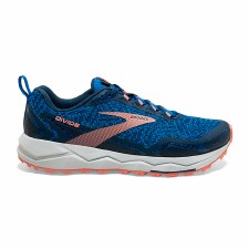 Brooks Divide 1 Ladies (Blue Pink) 5