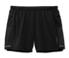 "Brooks Sherpa 5"" Mens Short (Black) Medium"