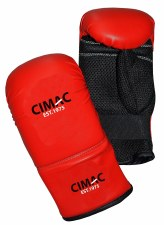 Cimac Ultimate Bag Gloves (Red Black) Small-Medium