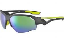 Cebe Hilldrop Sunglasses (Matt Grey Shiny Lime)
