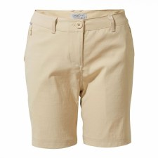 Craghoppers Kiwi Pro Ladies Shorts (Beige) 10