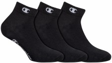 Champion Ankle Socks (Black) Uk 6-8