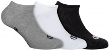 Champion No Show Socks (Grey Black White) Uk 3-5
