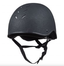 Charles Owen JS1 Riding Helmet (Black) 55
