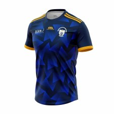 Gaelic Armour Clare Ladies Training Jersey (Navy Royal Amber) 9-10