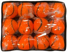 Cooper Dimpled Wall Ball 12 (Orange) Size 5