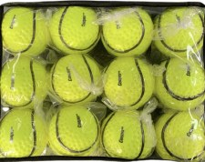 Cooper Dimpled Wall Ball 12 (Yellow) Size 5