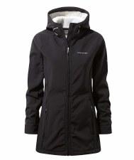 Craghoppers Ingrid Hooded Ladies Jacket (Black) 16