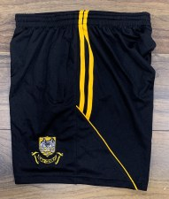 CS Ballyea Zip Pocket Training Shorts (Black Amber) 5-6