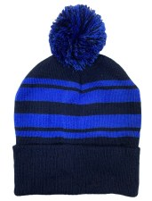 CS Bobble Hat (Navy Royal) One Size