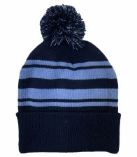 CS Bobble Hat (Navy Sky) One Size