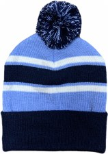 CS Bobble Hat (Navy Sky White) One Size