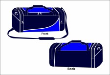 CS Team Holdall Medium (Navy Royal White) Medium